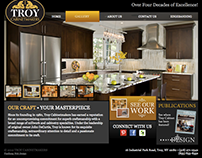 Troy Cabinet Web Design