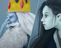 IceKing & Marceline / Fanart Poster
