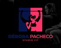 Logotipo - Débora Studio Fit
