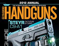 2012 Handguns Annual cover