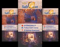 Salt Cave flyer & Roll Up