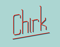 Chirk // Free Display Font