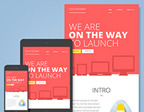 On the way – Email Newsletter Template