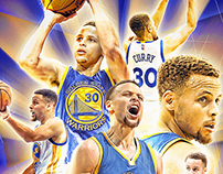 Steph Curry Poster Design