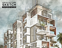 Architecture Sketch Photoshop Action