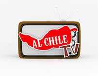 Logo AlchileTV 3D