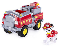 Paw Patrol - Marshall's Forest Fire Truck Vehicle