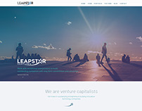 LeapStar fully responsive Jimdo website