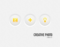 Creative photo - User Interface Design