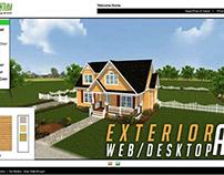 Virtual Interactive Desktop & WebGL Application