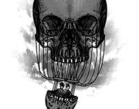 Skull air balloon