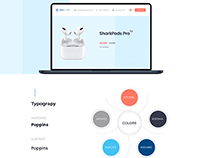 Modern e-commerce Project Style-Guide