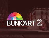BUNK'ART 2 (Exhibition Museum) Branding