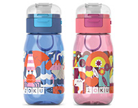 ZOKU FLIP GULP BOTTLE