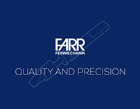 Farr Feinmechanik Branding and Illustrations