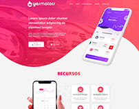 Layout Site YesMotors - 2020
