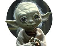 Yoda stylized