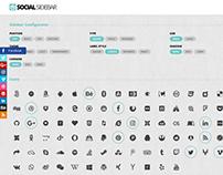 Social Sidebar WordPress Plugin
