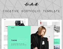 OAK - Creative Multi-Purpose Template