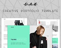 OAK - Creative Multi-Purpose Template