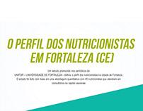 INFOGRÁFICO: O PERFIL DOS NUTRICIONISTAS EM FORTALEZA