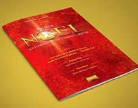 First Noel Christmas Concert Program Template