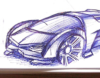 Just some car sketches