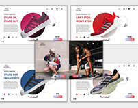 Shoe Space   UI - Web Design   Branding