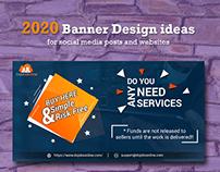 2020 Banner Design Ideas