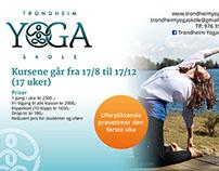 Promo for Trondheim Yogaskole