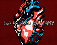 Digital Illustration - Can You Feel My Heart?