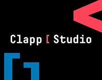 Clapp Studio — website redesing