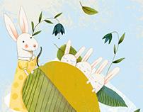 Mond und Sterne - Children's Book