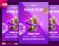Shakes Flyer Templates Psd