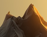 The Lowpoly Sunset