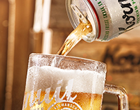 Kornuit Beer - Advanced productshots & Key visuals