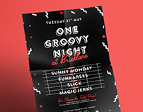 One Groovy Night | Poster