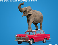 Central Bank of India   Car and Home Loan Ad