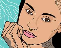 Kehlani Illustration