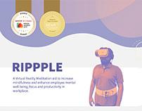 Rippple - A Virtual Reality Meditation Aid