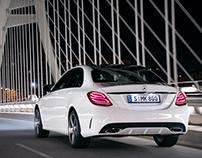 Mercedes-Benz C Class Advert 2015