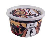 Heavy Weight Salsa Branding