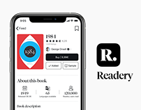 Readery App Concept