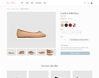 Ecommerce Product Details Page
