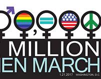 Million Women March Designs