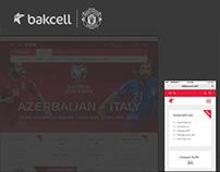Bakcell Website Redesign
