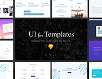 Ui for Templates - Free Sketch Resource