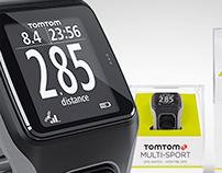 TomTom Multi-Sport Watch // Packaging