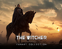 The Witcher Fanart Collection