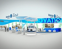 Exhibition Stand Animation For High Res L.L.C Dubai